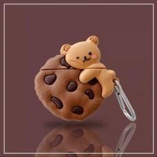 کاور ایرپاد خرس شکلاتی airpod cover 1,2,pro
