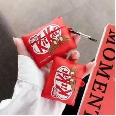 کاور ایرپاد شکلات Kit kat کیت کت به همراه آویز Airpod cover 1,2,pro