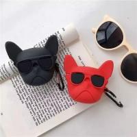 کاور ایرپاد سگ عصبانی(angry cat) با آویز airpod cover 1,2