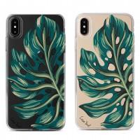 قاب ژله ای  برگ استوایی apple iphone 6-6s-6p-6sp-7-8-7p-8p-x-xs-xr-xsmax
