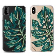 قاب ژله ای  برگ استوایی apple iphone 6-6s-6p-6sp-x-xs-xr-xsmax