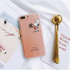 قاب احمقانه اسنوپی گارسون Waiter snopy silly case apple iphone 6-6s-7-8-7p-8p