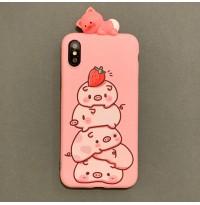 قاب خوک های صورتی  Pink pigs apple iphone x-xs