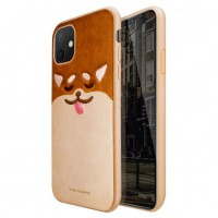 قاب اورجینال ویوا مادرید طرح شیبا کاراملی viva madrid shiba caramel case apple iphone 11pro-11promax