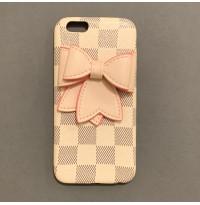 قاب پاپیون چرمی Leather bow tie apple iphone 6-6s-7-8