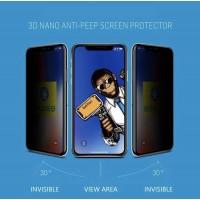 گلس اورجینال فول پرایوسی بلو مانکی apple iphone 6-6s-6p-6sp-7-8-7p-8p-x-xs-xr-xsmax-11-11pro-11promax-12-12pro-12promax