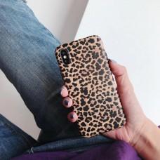 قاب پلنگی  قهوه ای  apple iphone 7-8-se2020-x-xs-xsmax