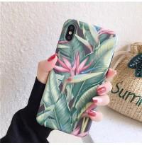 قاب برگ استوایی سبز apple iphone 6p-6sp-xsmax