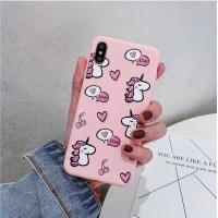 قاب ژله ای  اسب تک شاخ قلبی apple iphone 6-6s-6p-6sp-7-8-7p-8p-x-xs-xr-xsmax