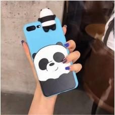 قاب پاندا زمینه آبی رنگ apple iphone 6p-6sp
