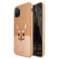 قاب اورجینال ویوا مادرید طرح شیبا بادام زمینی viva madrid shiba peanut case apple iphone 11pro-11promax