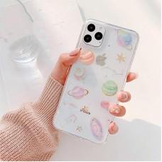 قاب منظومه شمسی بی رنگ(شفاف) apple iphone 6-6s-xsmax-11pro