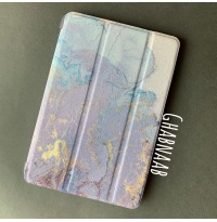 قاب آیپد ماربل کهربایی  Amber marble smart cover for ipad 360