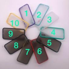 قاب ضدضربه پشت مات apple iphone 6-6s-6p-6sp-7-8-se2020-7p-8p-X-Xs-Xr-xsmax-11-11pro-11promax