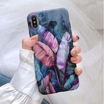 قاب برگ استوایی بنفش apple iphone 6-6s-6..