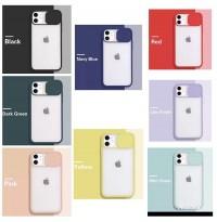 قاب محافظ لنزدار کشویی پشت مات  apple iphone 6-6s-6p-6sp-7-8-se2020-7p-8p-x-xs-xsmax-11-11pro-11promax