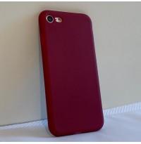 قاب زرشکی ساده apple iphone 6-6s-6p-6sp-7-8-7p-8p-x-xs