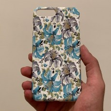 قاب گل های زنبق apple iphone 5-5s-5se-6p-6sp-7-8-7p-8p