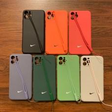 قاب نایک سیلیکونی به همراه بند آویز Nike apple iphone 7-8-se2020