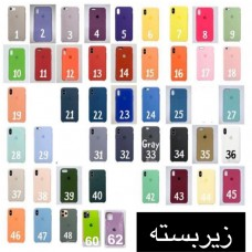 قاب سیلیکون زیربسته 2 silicone case apple iphone 5-5s-5se-6-6s-6p-6sp-7-8-se2020-7p-8p-x-xs-xsmax