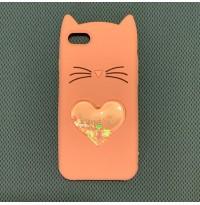 قاب گربه لاولی صورتی iphone iphone7-8-se2020-x-xs