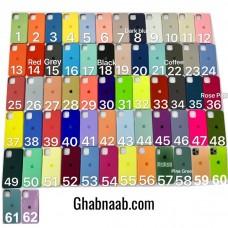 قاب سیلیکون silicone case apple iphone 5-5s-5se-6-6s-6p-6sp-7-8-se2020-7p-8p-x-xs-xr-xsmax-11-11pro-11promax