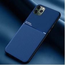 قاب فایبر کیس اورجینال آبی کاربنی Apple iphone 11-11pro-11promax-12-12pro-12promax