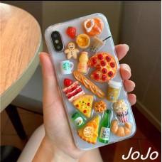 قاب خوراکی های خوشمزه Apple iphone 6-6s-7-8-se2020-7p-8p-x-xs-xsmax-11-11pro-11promax