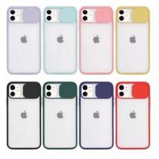 قاب پشت مات کشویی محافظ لنزدار Apple iphone 7-8-se2020
