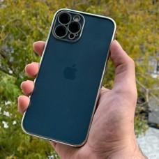 قاب پشت بیرنگ دور نقره ای(سیلور) به همراه محافظ لنز Apple iphone 7p-8p-x-xs-xsmax-11-11pro-11promax-12