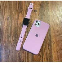 ست قاب و بند سیلیکون زیربسته ارغوانی apple iphone 5-5s-5se-6-6s-6p-6sp-7-8-se2020-7p-8p-x-xs-xr-xsmax-11-11pro-11promax
