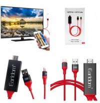 کابل  lightning به HDMI اچ دی ام آی برند Earldom