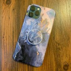 ست قاب و پاپ سوکت سنگی با رگه های طلایی apple iphone 6-6s-6p-6sp-7-8-se2020-7p-8p-x-xs-xsmax-xr-11-11pro-11promax-12-12pro-12promax