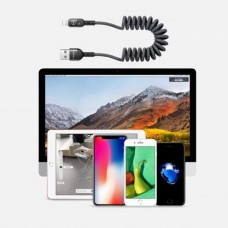 کابل اورجینال آیفون lightning data coiled cable برند MCdodo