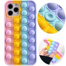 قاب رنگین کمانی ضد استرس Apple iphone xr-xsmax-11-11pro-11promax-12promax