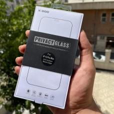 گلس K-doo privacy glass HD & anti-peep for apple iphone 12-12pro-12promax