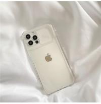 قاب شفاف محافظ لنزدار کشویی Apple iphone 7-8-se2020-7p-8p-x-xs-xr-xsmax-11-11pro-11promax-12mini-12-12pro-12promax