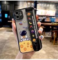 قاب سفر فضانوردان به همراه جادستی Apple iphone 6-6s-6p-6sp-7-8-se2020-7p-8p-x-xs-xr-xsmax-11-11pro-11promax-12-12pro-12promax