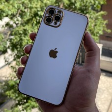 قاب الکتروپلیتینگ طرح بدنه گوشی سفید Apple iphone 6-6s-6p-6sp-7-8-se2020-7p-8p-x-xs-xr-xsmax-11-11pro-11promax-12-12pro-12promax