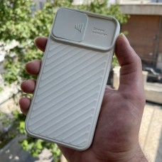 قاب ژله ای دوربین کشویی کرم Apple iphone 11-11pro-11promax