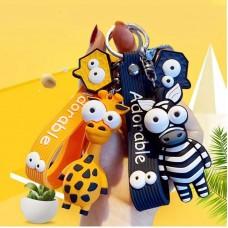 جاسوئیچی زرافه و گورخر Zebra & Giraffe keychain
