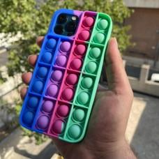 قاب رنگین کمانی ضد استرس طرح (3) Apple iphone 7-8-se2020-7p-8p-x-xs-xr-xsmax-11-11pro-11promax-12-12pro-12promax
