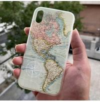 قاب نقشه جغرافیا Apple iphone 6-6s-6p-6sp-xr