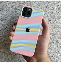 قاب سیلیکونی کوبیسم صورتی Apple iphone 6-6s-6p-6sp-7-8-se2020-7p-8p-x-xs-xr-xsmax-11-11pro-11promax-12mini-12-12pro-12promax