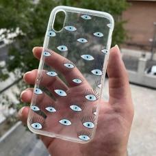 قاب مژه Apple iphone 6-6s-6p-6sp-7-8-se2020-xr