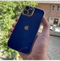 قاب الکتروپلیتینگ طرح بدنه گوشی آبی Apple iphone 11-11pro-11promax-12-12pro-12promax