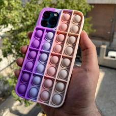 قاب رنگین کمانی ضد استرس طرح (4) Apple iphone 7-8-se2020-7p-8p-x-xs-xr-xsmax-11-11pro-11promax-12-12pro-12promax