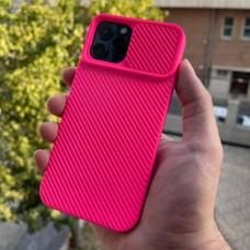 قاب دوربین کشویی,سیلیکونی صورتی Apple iphone 6-6s-6p-6sp-7-8-se2020-7p-8p-x-xs-11-11pro-11promax-12-12pro-12promax