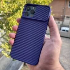 قاب دوربین کشویی,سیلیکونی بنفش Apple iphone 6-6s-6p-6sp-7-8-se2020-7p-8p-x-xs-11-11pro-11promax-12-12pro-12promax