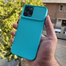 قاب دوربین کشویی,سیلیکونی آبی Apple iphone 6-6s-6p-6sp-7-8-se2020-7p-8p-x-xs-11-11pro-11promax-12-12pro-12promax